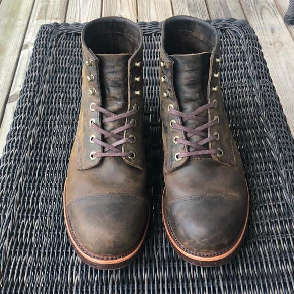 079f5945789 LL Bean/Chippewa Katahdin Engineer boots 9.5EE